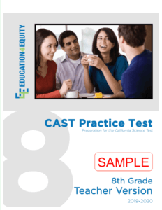 8th Grade CAST Sample Test