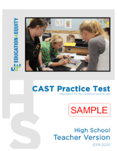 High School CAST Sample Test